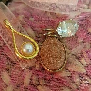 3 pieces Designers Vintage Pendant